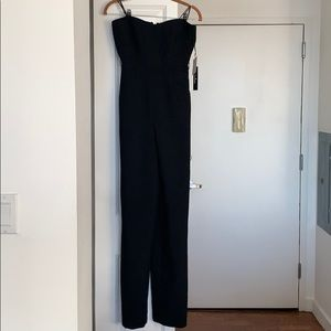 Lulus strapless jumpsuit- New